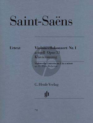 Saint-Saens Concerto No.1 a-minor Op.33 (Henle-Urtext)