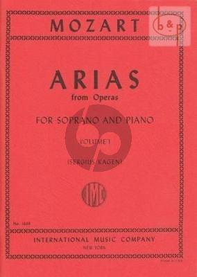 Mozart 40 Arias vol.1 Soprano (Sergius Kagen) (with English translations)