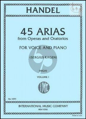 45 Arias vol.1 High Voice