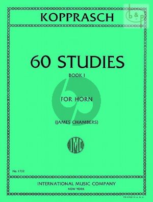 60 Studies for Horn Vol.1