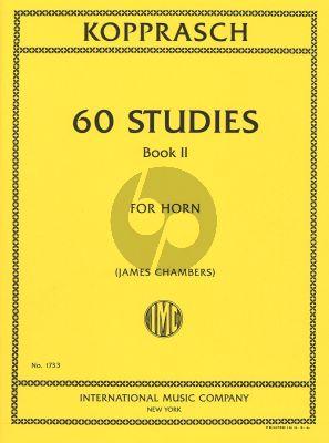 60 Studies for Horn Vol.2 (Chambers) (IMC)