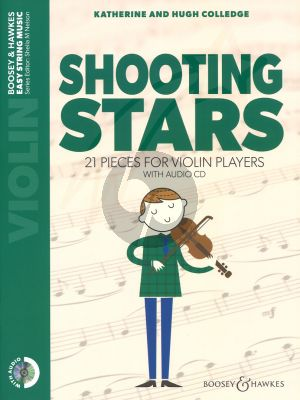 Shooting Stars Violin (21 Pieces) (Bk-Cd)
