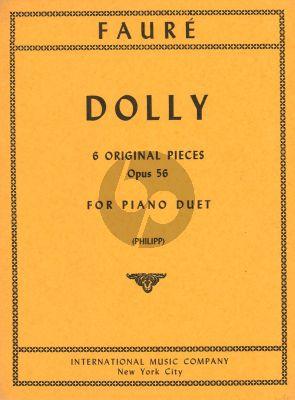 Faure Dolly op.56 Piano 4 hands (6 Original Pieces)