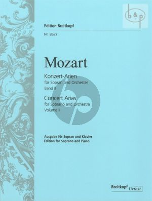 Konzert-Arien Vol.2 (Sopran-Orchester) (KA)