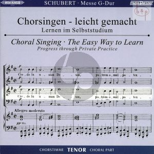 Messe G-dur D.167 (CD Tenor Chorstimme)