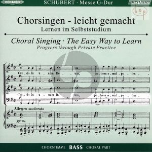 Messe G-dur D.167 (CD Bass Chorstimme)