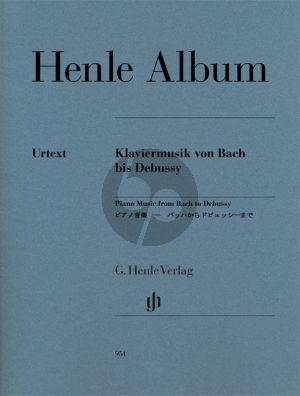 Henle Album 39 Stucke mit Klaviermusik von Bach bis Debussy