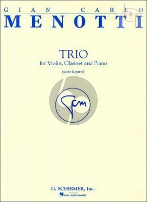 Trio Violin-Clarinet (Bb) and Piano