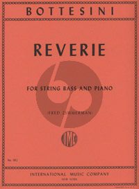 Bottesini Reverie Double Bass-Piano (Solo Tuning) (Fred Zimmermann)