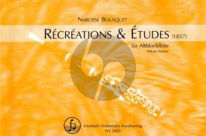 Bousquet Recreations & Etudes Altblockflöte (1857) (Tarasov)