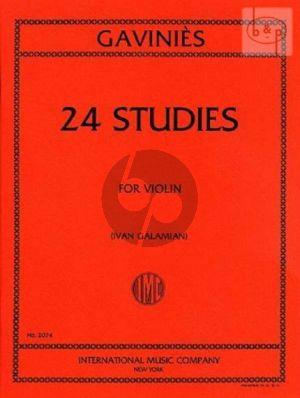 24 Studies Violin