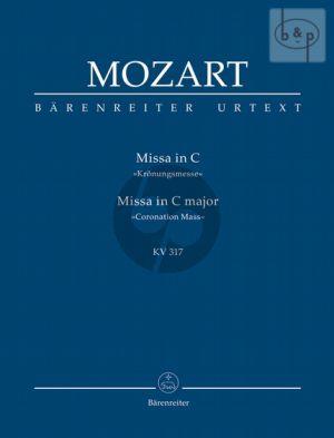 Missa C-major KV 317 (Kronungs-Messe) (Soli-Choir-Orch.)