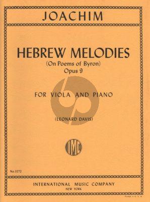 Handoschkin Variations on Russian Song of Love Viola-Piano (Leonard Davis)
