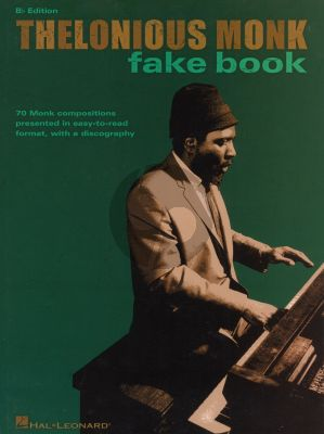The Thelonious Monk Fake Book Bb instruments