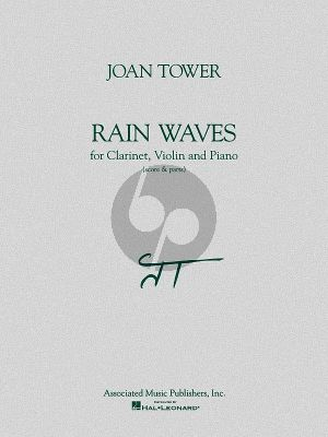 Tower Rain Waves Clarinet-Violin-Piano (Score/Parts)