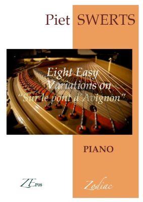 Swerts 8 Easy Variations on Sur le Pont d'Avignon Piano solo