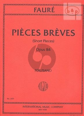 8 Pieces Breves Op.84 Piano solo