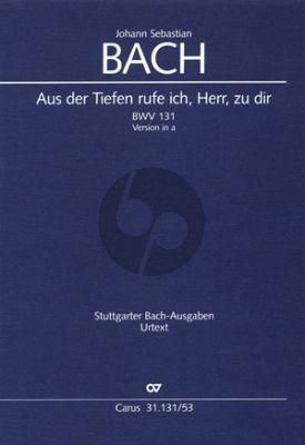 Bach Kantate BWV 131 (Fassung a-moll) Soli-Chor-Orch . (KA)