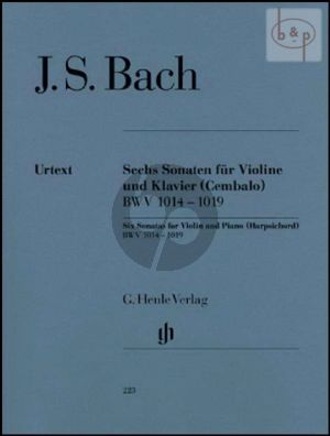 6 Sonatas BWV 1014 - 1019 (Violin-Harpsichord)