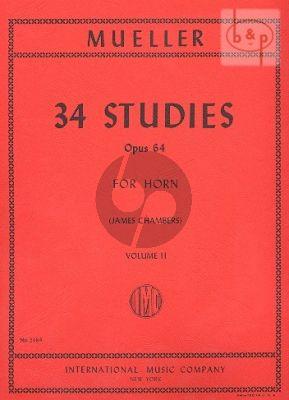 34 Studies Op.64 Vol.2