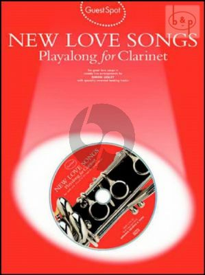 Guest Spot New Love Songs Playalong (Clarinet)
