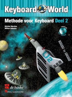 Merkies Keyboard World Vol.2 (Methode voor Keyboard) (Bk-Cd)