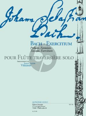Bach-Exercitium (Preludes, Fantaisies, Toccatas et Exercitium) (Veilhan)