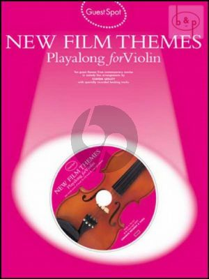 Guest Spot New Film Themes Playalong (Violin)