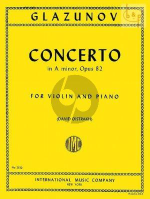Concerto A-minor Op.82