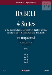 4 Suites su temi favoriti di Handel-Bononcini- Gasparini e Haym Vol.4