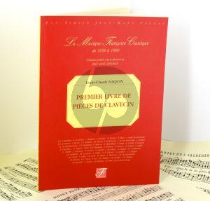 Daquin Pieces de Clavecin premier livre (Paris 1735) (facs.)