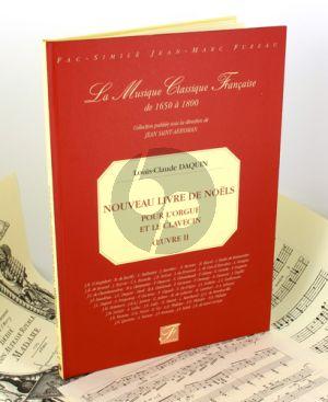 Daquin Nouveau Livre de Noels (Paris 1757) (Facsimile)
