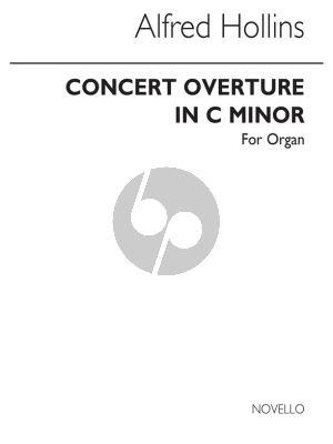 Hollins Concert Overture No.2 c-minor Organ