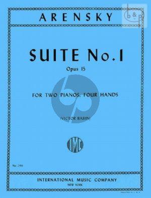 Suite No.1 Op.15 2 Piano's