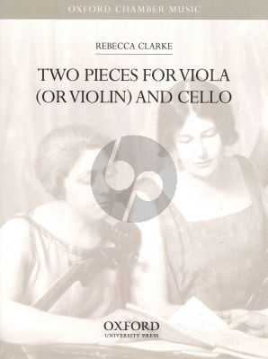 Clarke 2 Pieces Viola - Cello (Lullaby and Grotesque)