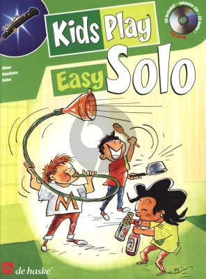 Gorp Kids Play Easy Solo for Oboe (Bk-Cd) (very easy to easy)