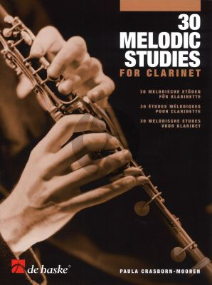 Crasboorn-Mooren 30 Melodic Studies for Clarinet