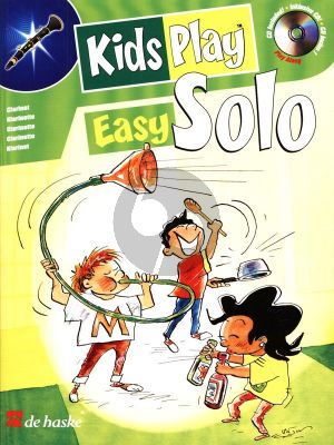 Gorp Kids Play Easy Solo for Clarinet (Bk-Cd) (very easy to easy)