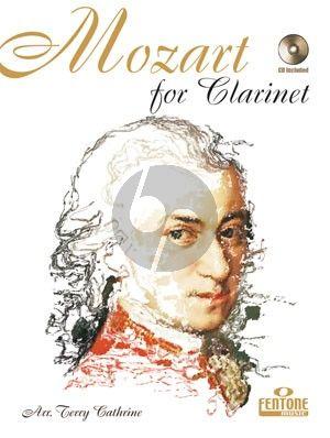 Mozart for Clarinet (Bk-Cd) (arr. Teryy Cathrine)