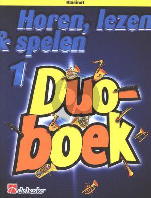 Horen, Lezen & Spelen Vol.1 Duoboek Klarinet