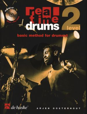Oosterhout Real Time Drums Level 2 Methode (Bk- 2 Cd's)