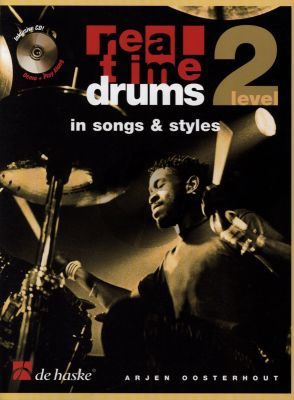 Oosterhout Real Time Drums in Songs & Styles Level 2 (Bk-Cd)