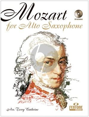Mozart for the Alto Saxophone (Bk-Cd) (Terry Cathrine)