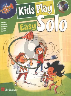 Gorp Kids Play Easy Solo for Trumpet (Bk-Cd) (very easy to easy)