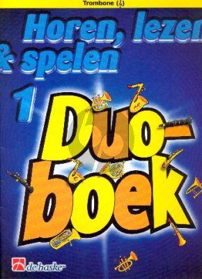 Horen, Lezen & Spelen Vol.1 Duoboek Trombone Vioolsleutel