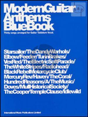 Modern Guitar Anthems Blue Book (30 Songs)