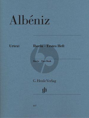 Albeniz Iberia Vol.1 (Gertsch) (Henle-Urtext)