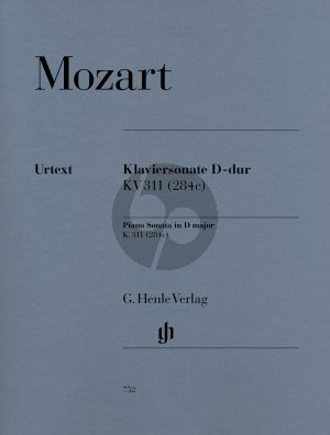 Mozart Sonate KV 311 (284c) D-dur Klavier (Ernst Herttrich) (Henle-Urtext)