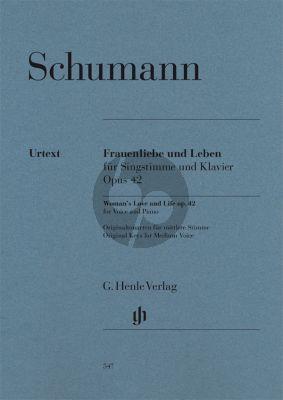 Schumann Frauenliebe und Leben Op.42 (Hoch/Mittel) (Henle-Urtext)