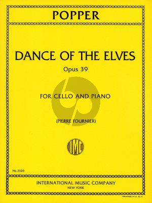 Popper Dance of the Elves Op.39 Cello-Piano (Pierre Fournier)